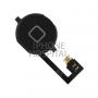 Home-Button in Schwarz mit Flex-Kabel für iPhone 4
